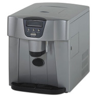 Countertop Icemaker/Water Dispenser, Silver, 12 1/4 x 14 1/2 x 17