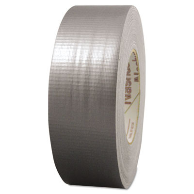 "398-2-SIL Premium, Contractor-Grade Duct Tape, 2"" x 60yds, Silver"