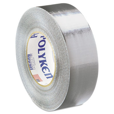 """Duct Tape, 2"""" x 60yds, 9 1/2mil, Silver"""