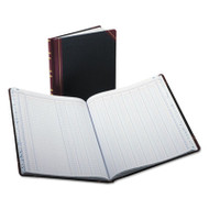 Columnar Accounting Book, 12 Column, Black Cover, 150 Pages, 10 1/8 x 12 1/4