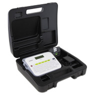 PT-D400VP Versatile Label Maker with AC Adapter and Carrying Case, White