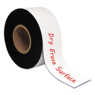 "Dry Erase Magnetic Tape Roll, White, 3"" x 50 Ft."