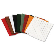One Pound Felt Sheet Pack, Rectangular, 9 x 12, Assorted Colors