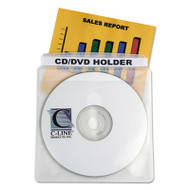 Deluxe Individual CD/DVD Holders, 50/BX
