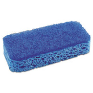 "All Surface Scrubber Sponge, 2 1/2 x 4 1/2, 1"" Thick, Blue, 12/Carton"