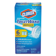 Disinfecting ToiletWand Refill Heads, Blue/White