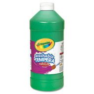 Artista II Washable Tempera Paint, Green, 32 oz