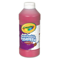 Artista II Washable Tempera Paint, Red, 16 oz