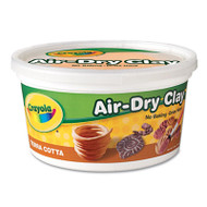 Air-Dry Clay, Terra Cotta, 2 1/2 lbs