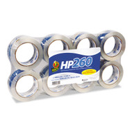 "Carton Sealing Tape, 1.88"" x 60yds, 3"" Core, Clear, 8/Pack"