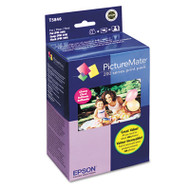 T5846 PictureMate 200 Print Pack, Black/Cyan/Magenta/Yellow Ink & Photo Paper