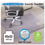 45x53 Lip Chair Mat, Performance Series AnchorBar for Carpet up to 1""