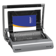 Galaxy Manual Comb Binding System, 500 Sheets, 20 7/8 x 17 3/4 x 6 1/2, Gray