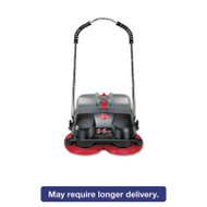 SpinSweep Pro Outdoor Sweeper, Black
