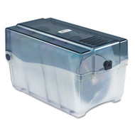 CD/DVD Storage Case, Holds 150 Discs, Clear/Smoke