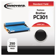 Compatible PC301 Thermal Transfer Print Cartridge, Black
