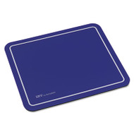SRV Optical Mouse Pad, Nonskid Base, 9 x 7-3/4, Black