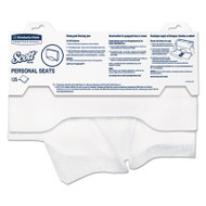 "Personal Seats Sanitary Toilet Seat Covers, 15"" x 18"", 125/Pack, 3000/Carton"