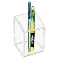 Acrylic Pencil Cup, 2 3/4 x 2 3/4 x 4, Clear