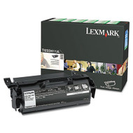 T650H11A High-Yield Toner, 25000 Page-Yield, Black