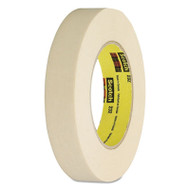 "232 High-Performance Masking Tape, 18mm x 55m, 3"" Core, Tan"