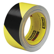 Caution Stripe Tape, 2w x 108ft Roll
