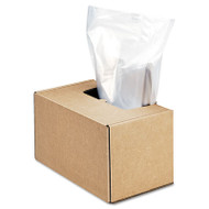 Shredder Waste Bags, 50 gal Capacity, 50/CT