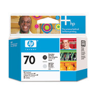 HP 70, (C9407A) Photo Black/Light Gray Printhead