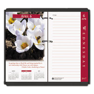 Earthscapes Desk Calendar Refill, 31/2 x 6, 2017