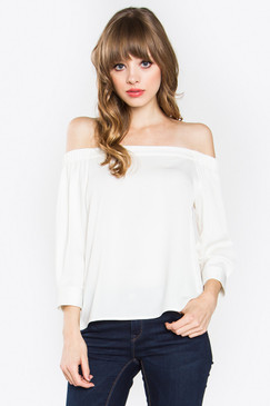 """Size + Fit - Model is wearing size S - Measurements taken from size S - Length: 19.75"""" - Chest: 38"""""""