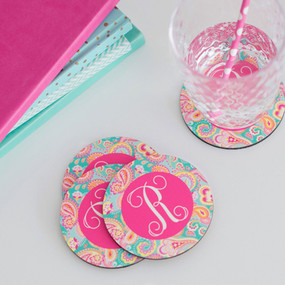Round Coaster - Set of 4 - 22 Patterns
