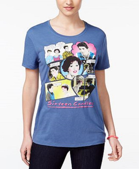 Hybrid Juniors' Sixteen Candles Graphic T-Shirt