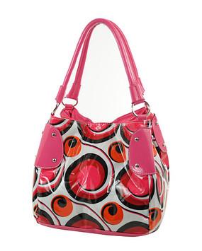 Swirl Design Handbag