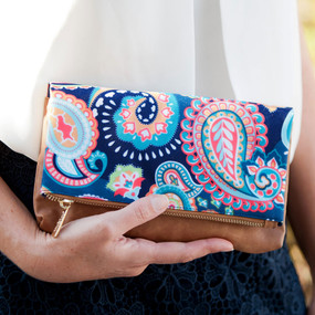 Emerson Paisley Crossbody Purse
