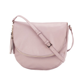 Blush Sienna Tassel Bag
