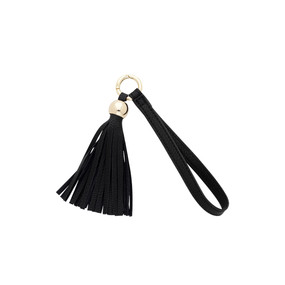 Black Tassel Key Accessory