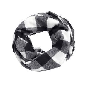 Black/White Londyn Infinity Scarf