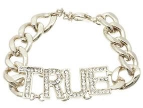 Crystal Stone True Link Bracelet