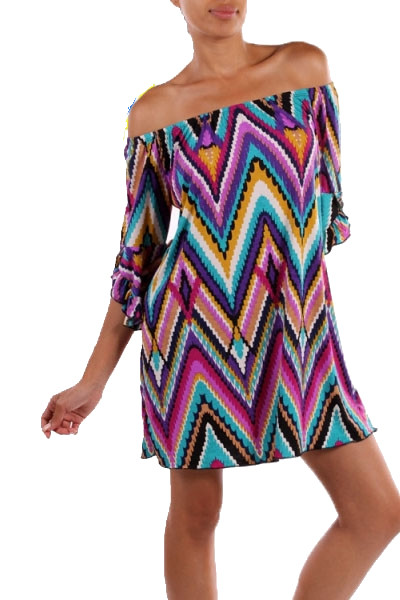 Falling to Pieces Dress - Violet