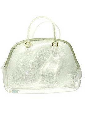BAG ACCESSORY / JELLY / TOTE / 14 INCH WIDE / 12 INCH TALL / NICKEL AND LEAD COMPLAINT