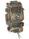 Bracelet / State Of Oklahoma Theme / Aged Metal Stretch Charm / Buffalo / Scissor-Tailed Flycatcher Charm / Cross Arrow Charm / 2 1/2 Inch Diameter / 1 1/4 Inch Tall / Nickel And Lead Compliant