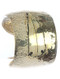 Bracelet / Arrowhead / Textured Metal Cuff / Hammered / Aged Finish / Convex / 2 1/4 Inch Diameter / 2 Inch Tall / Nickel And Lead Compliant