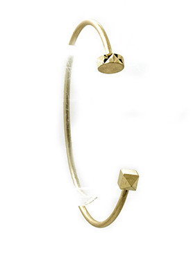 Bracelet / Matte Finish Metal / Wire Cuff / 2 1/3 Inch Diameter / 1/8 Inch Tall / Nickel And Lead Compliant