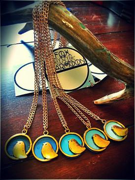 My Chickadee Necklace