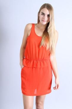 Orange Blitz Dress