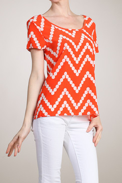 Orange Crush Top - Orange