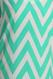 Peach Love Cream High/Low Mint Chevron Dress