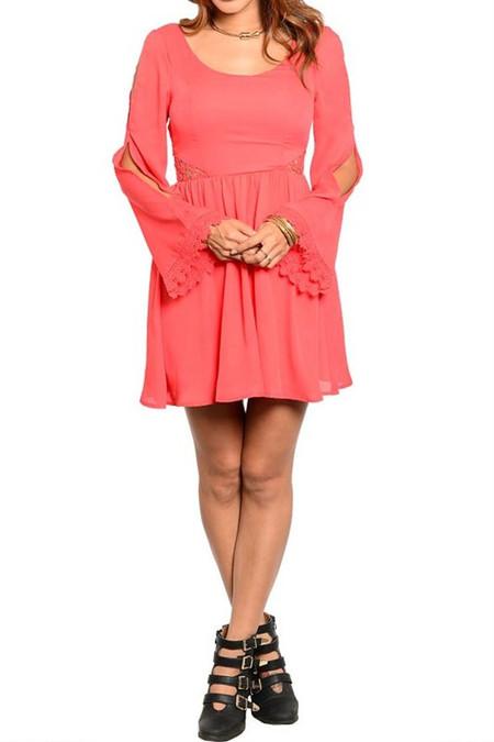 Strawberry Fields Dress - Red
