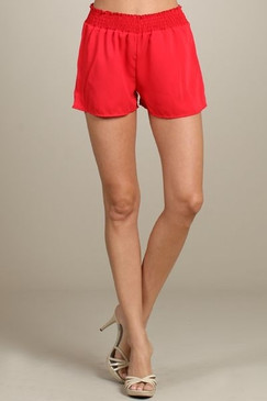 Summer Walking Shorts - Tomato