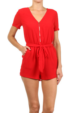 The Saturday Tailgate Romper